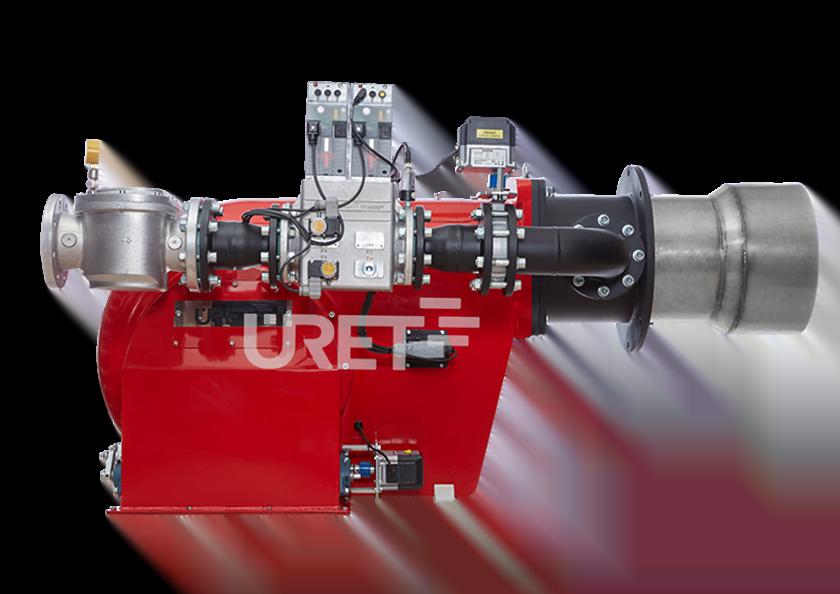 ÜRG 12 AZS ÜRET Oransal Gaz Brülörü (1500-7500 kW)