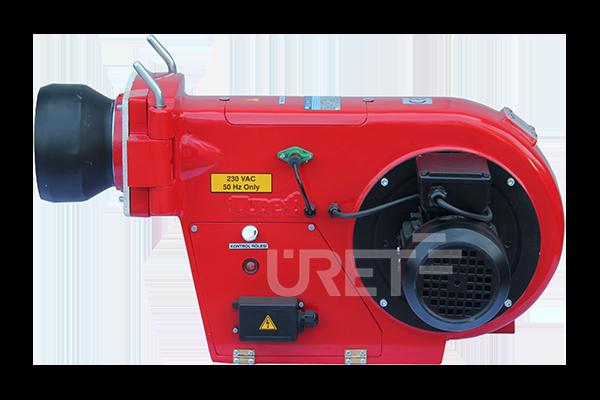 Ü 2 VMU ÜRET Tek Kademeli Motorin Sıvı Yakıt Brülörü (8-20 kg/h)