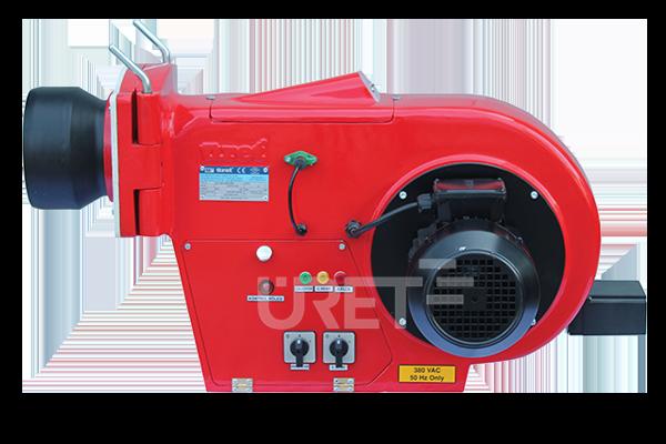 Ü 5 VZTU ÜRET İki Kademeli Motorin Sıvı Yakıt Brülörü (40-110 kg/h)