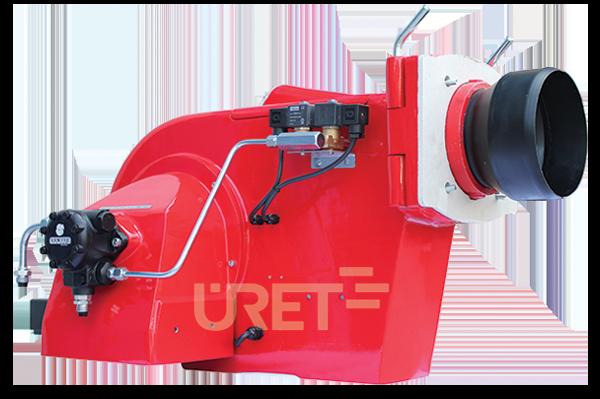 Ü 3 VZTU ÜRET İki Kademeli Motorin Sıvı Yakıt Brülörü (20-50 kg/h)