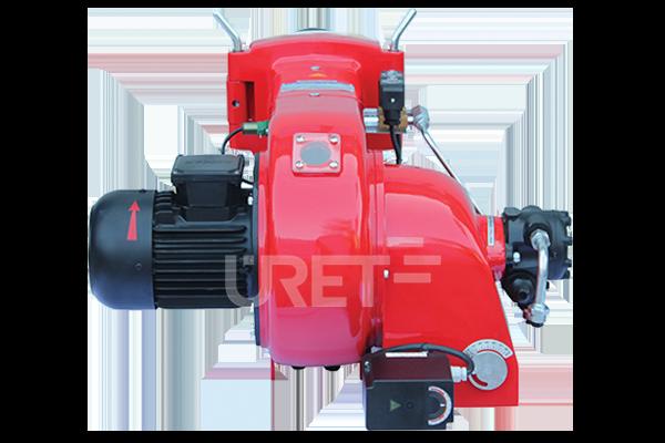 Ü 2 VZTU ÜRET İki Kademeli Motorin Sıvı Yakıt Brülörü (10-25 kg/h)