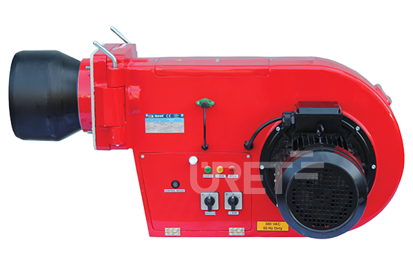 Ü 8 VTTU ÜRET Üç Kademeli Motorin Sıvı Yakıt Brülörü (70-260 kg/h)