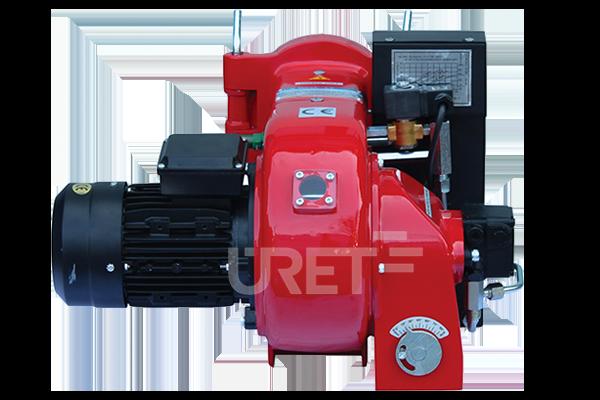 ÜM 3 VTUS ÜRET Tek Kademeli Fuel Oil Sıvı Yakıt Brülörü (18-45 kg/h)