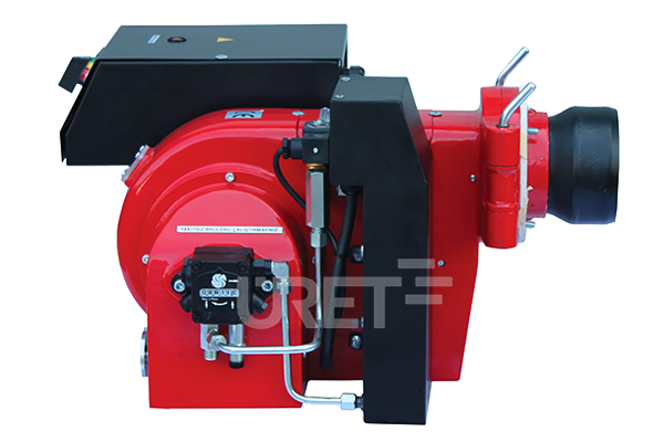 ÜM 2 VTU ÜRET Tek Kademeli Fuel Oil Sıvı Yakıt Brülörü (10-20 kg/h)