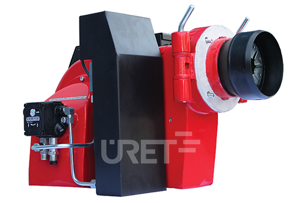 ÜM 3 VTU ÜRET Tek Kademeli Fuel Oil Sıvı Yakıt Brülörü (15-35 kg/h)