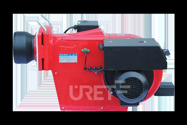 ÜM 3 VZTU ÜRET İki Kademeli Fuel Oil Sıvı Yakıt Brülörü (20-50 kg/h)