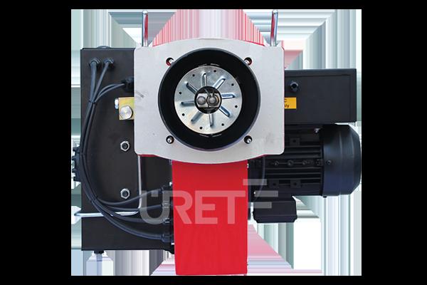 ÜM 5 VZTU ÜRET İki Kademeli Fuel Oil Sıvı Yakıt Brülörü (40-110 kg/h)
