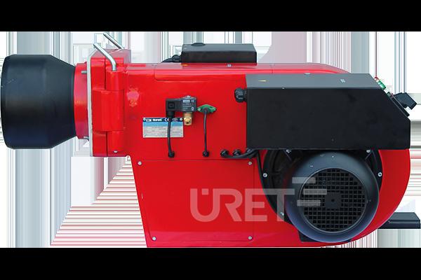 ÜM 7 VZTU ÜRET İki Kademeli Fuel Oil Sıvı Yakıt Brülörü (50-150 kg/h)